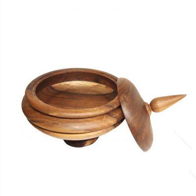 ظرف میوه چوبی